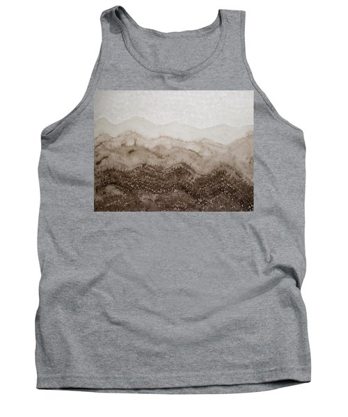 Desert Mountain Mist Original Painting Tank Top