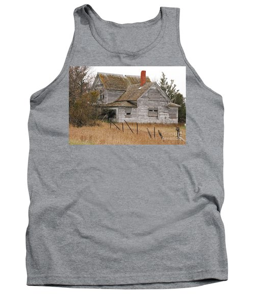 Deserted House Tank Top by Mary Carol Story