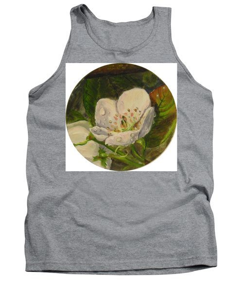 Dew Of Pear's Blooms Tank Top