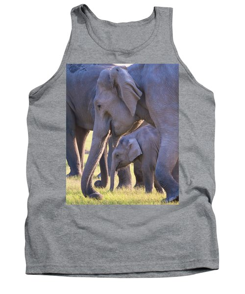 Dhikala Elephants Tank Top