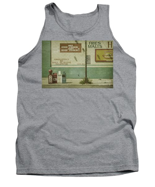 Diner Rules Tank Top by Andrew Paranavitana