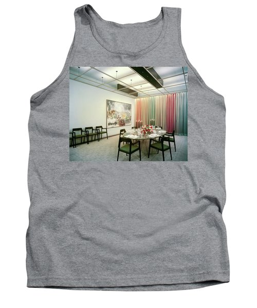 Dining Room In Mr. And Mrs. Williams A.m Tank Top