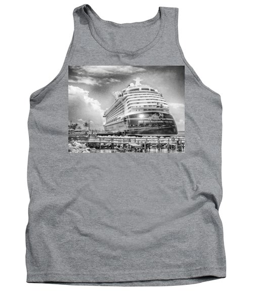 Tank Top featuring the photograph Disney Fantasy by Howard Salmon
