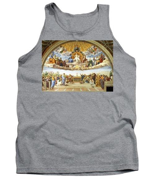 Disputation Of Holy Sacrament. Tank Top