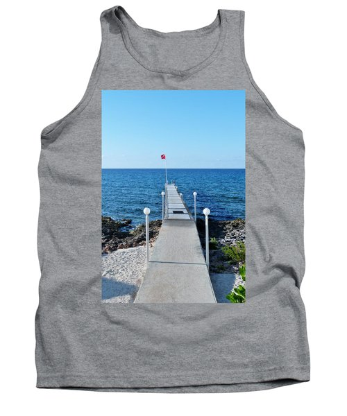 Tank Top featuring the photograph Divers Down by Amar Sheow