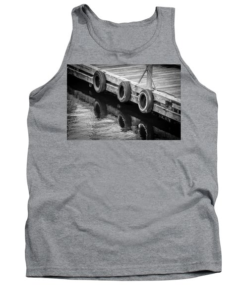 Dock Bumpers Tank Top by Melinda Ledsome
