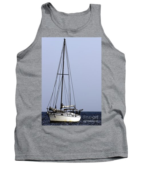 Tank Top featuring the photograph Docked At Bay by Lilliana Mendez