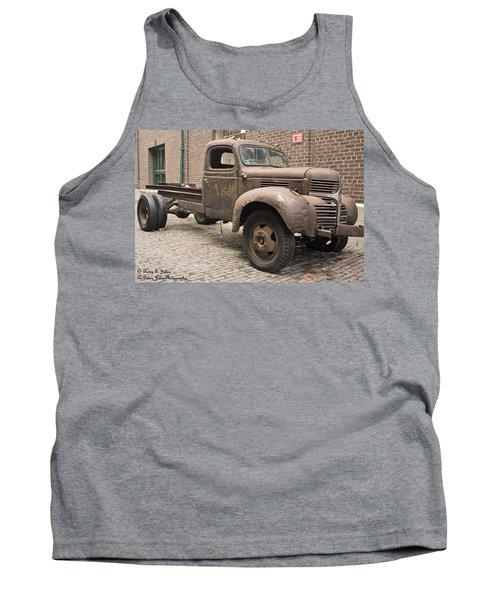 Dodge Me In Tank Top