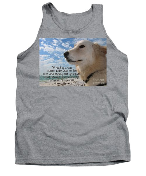Doggie Soul Tank Top by Peggy Hughes