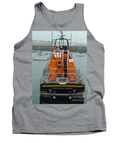 Donaghadee Rescue Lifeboat Tank Top