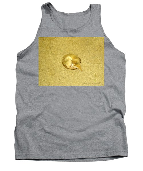 Tank Top featuring the photograph Don't Let Anything In The World Bother You by Verana Stark