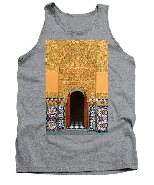 Door, Marrakech, 1998 Acrylic On Linen Tank Top