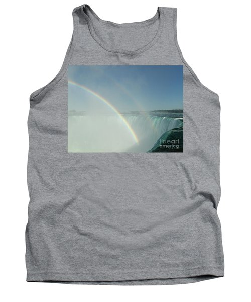 Tank Top featuring the photograph Double Rainbow by Brenda Brown
