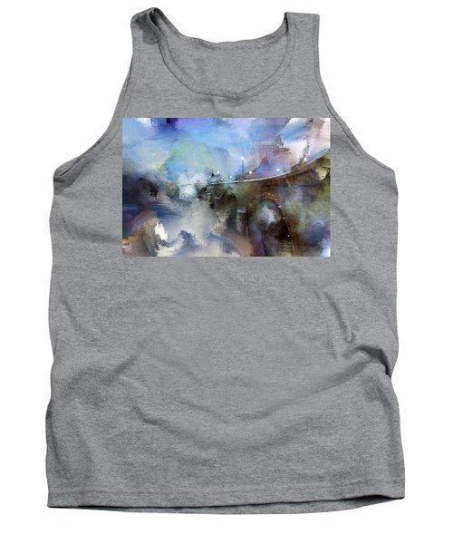 Downtown Bridge Over The Grand Grand Rapids Michigan Tank Top