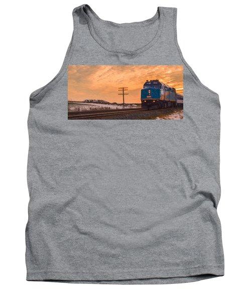 Downtown Train Tank Top