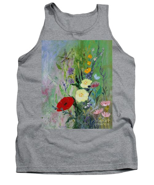 Dragonflies Dancing Tank Top