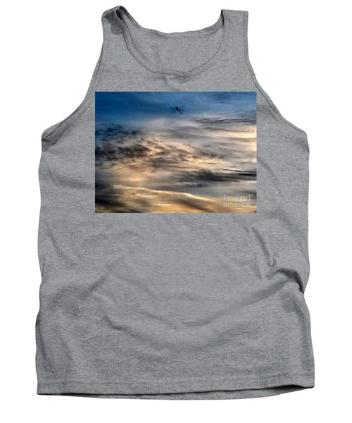 Dragonfly In The Sky Tank Top