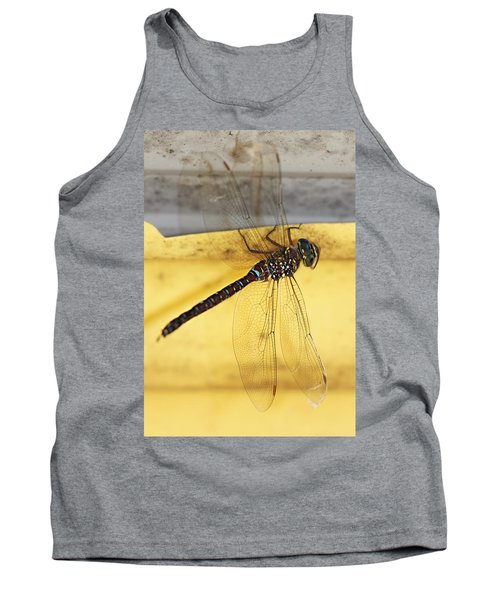 Tank Top featuring the photograph Dragonfly Web by Melanie Lankford Photography