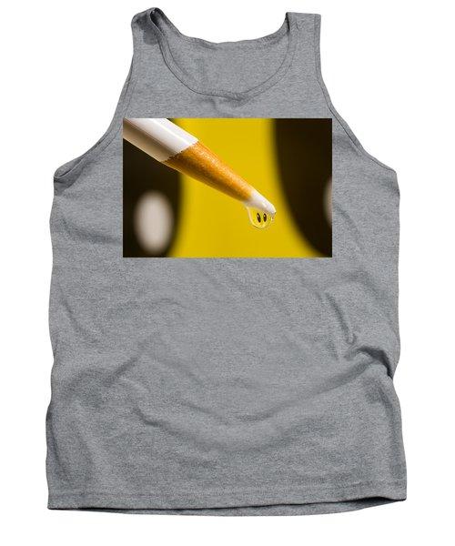 Happy Water Drop Pencil Tank Top