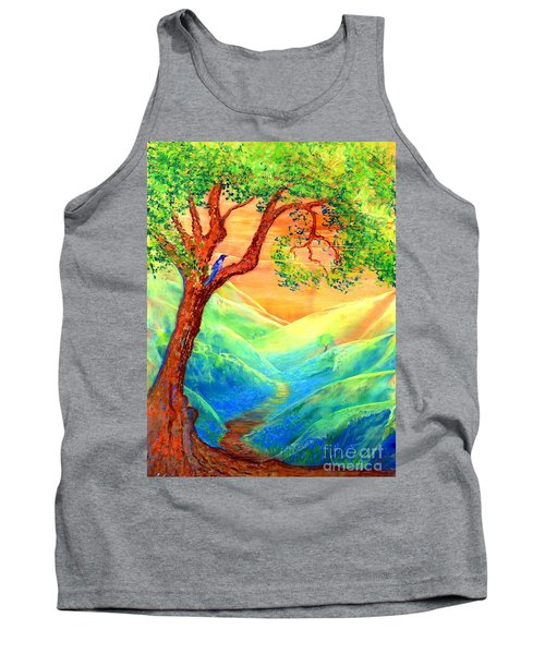 Dreaming Of Bluebells Tank Top