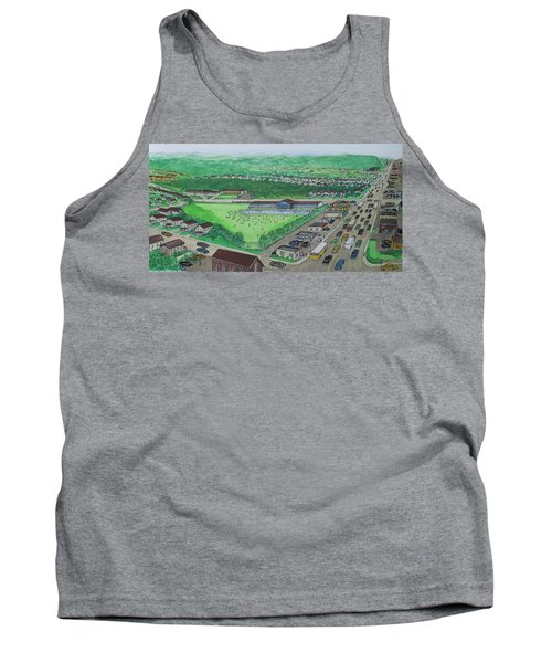 Dreamland Swimming Pool In Portsmouth Ohio 1950s Tank Top by Frank Hunter