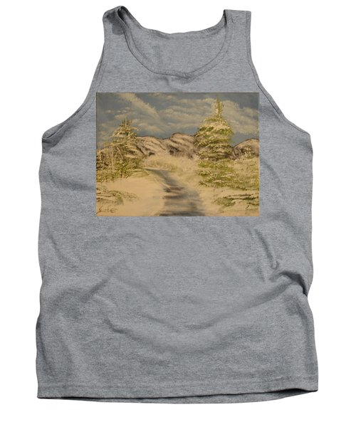 Dreams Of Snow Tank Top