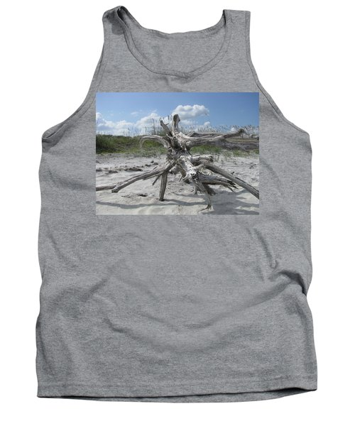 Driftwood Tree Tank Top
