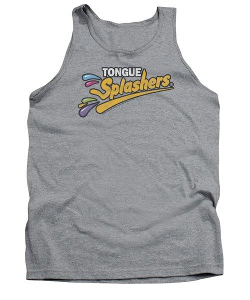 Dubble Bubble - Tongue Splashers Logo Tank Top