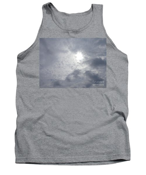 Tank Top featuring the photograph Duck In Beautiful Sky by Christina Verdgeline