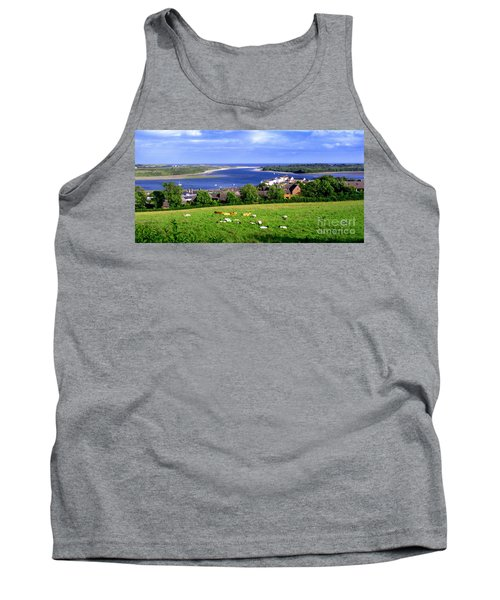 Dundrum Bay In County Down Ireland Tank Top by Nina Ficur Feenan