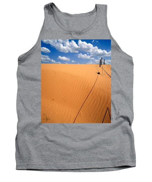 Dunes And Clouds Tank Top