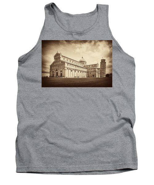 Tank Top featuring the photograph Duomo And Tower by Hugh Smith