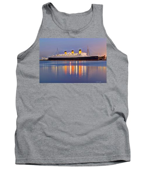 Dusk Light On The Queen Mary Tank Top