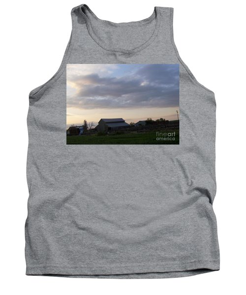 Tank Top featuring the photograph Dusk To Dawn by Bobbee Rickard