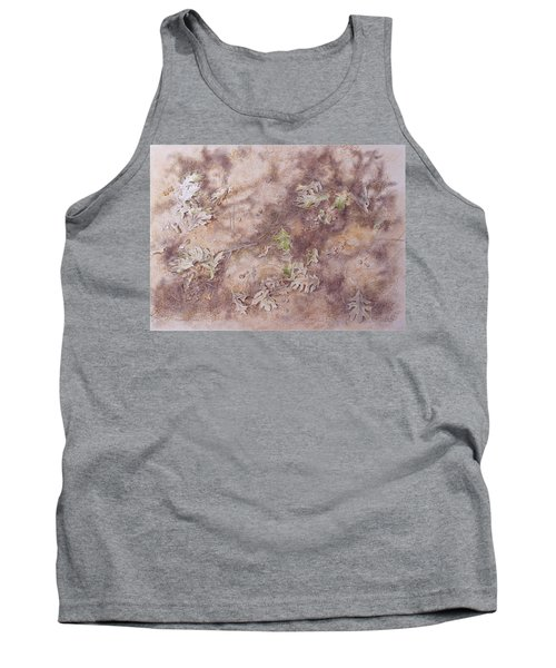 Tank Top featuring the mixed media Early Fall by Michele Myers