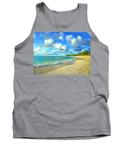 Early Morning At Sunset Beach Tank Top