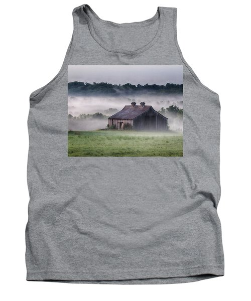 Early Morning In The Mist Standard Tank Top