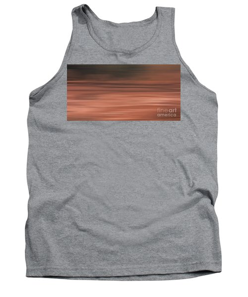 Abstract Earth Motion Soil Tank Top by Linsey Williams