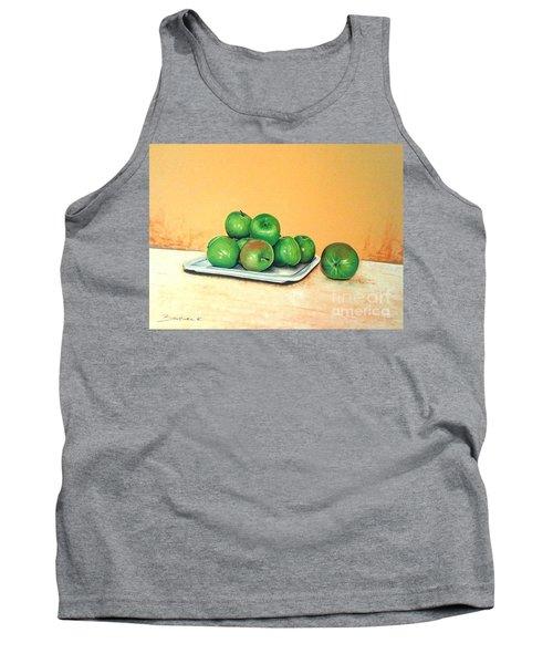 Eat Green Tank Top by Katharina Filus