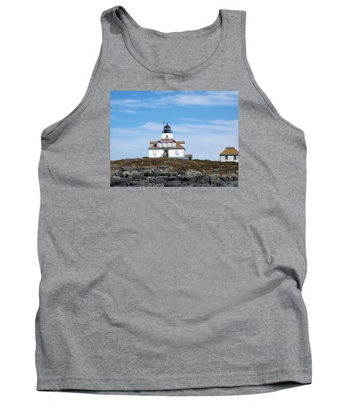 Egg Rock Lighthouse Tank Top by Catherine Gagne