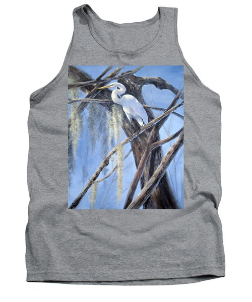 Egret Perch Tank Top