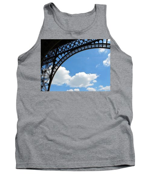 Eiffel Clouds Tank Top