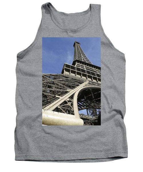 Eiffel Tower Tank Top by Belinda Greb