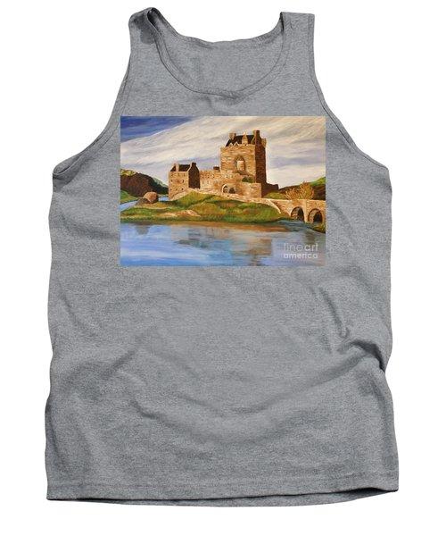 Eilean Donan Castle Tank Top by Christy Saunders Church