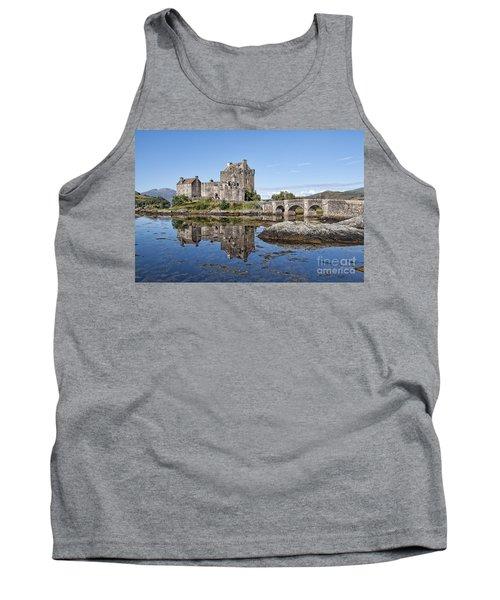 Eilean Donan Castle Reflections Tank Top