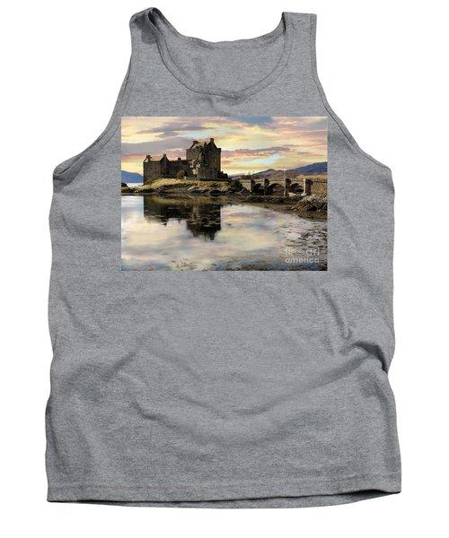 Eilean Donan Castle Scotland Tank Top by Jacqi Elmslie
