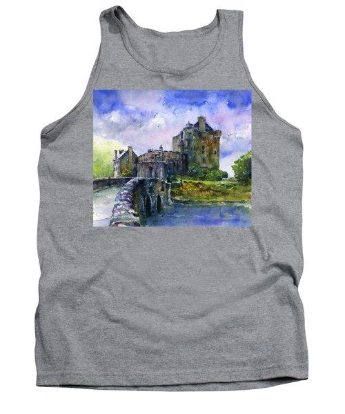 Eilean Donan Castle Scotland Tank Top