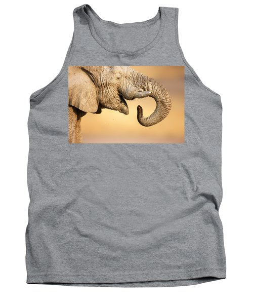 Elephant Drinking Tank Top