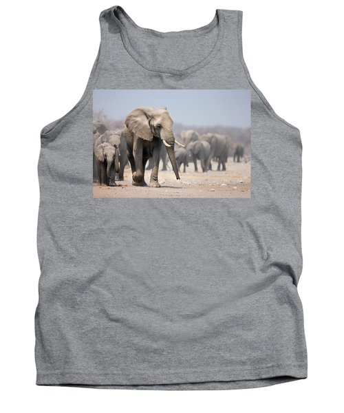 Elephant Feet Tank Top