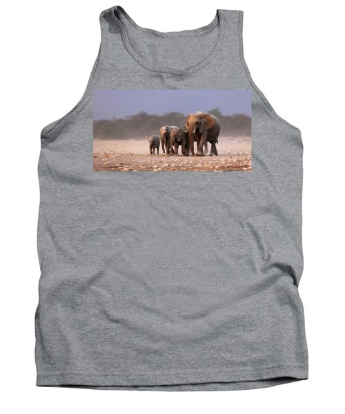 Elephant Herd Tank Top